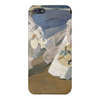 Strolling along the Seashore, 1909 iPhone SE/5/5s Cover