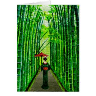 """""""Strolling Beauty"""" Card"""