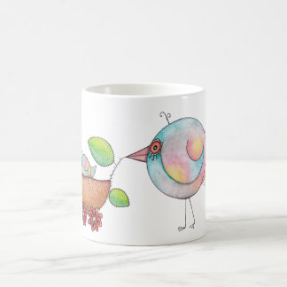 'Strolling' Birds Coffee Mug