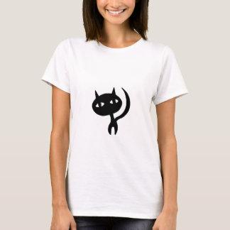 Strolling Cat Silhouette T-Shirt