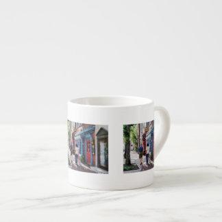 Strolling Down King Street Alexandria VA Espresso Cup