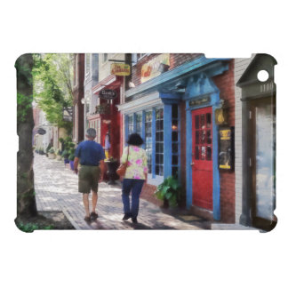 Strolling Down King Street Alexandria VA iPad Mini Cases