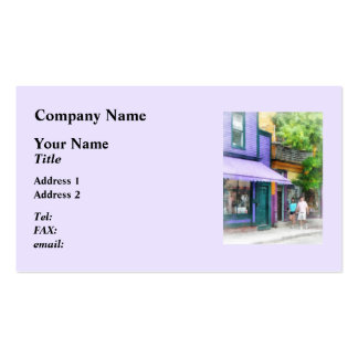 Strolling Down Thames Street Newport RI Double-Sided Standard Business Cards (Pack Of 100)
