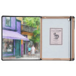 Strolling Down Thames Street Newport RI Covers For iPad