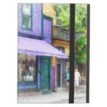 Strolling Down Thames Street Newport RI iPad Cover