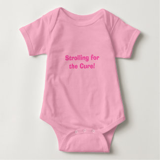 Strolling for the Cure! Baby Bodysuit