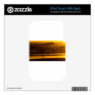 Strolling Harris Beach At Sunset - Oregon iPod Touch 4G Skins