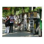 Strolling in Paris Postcard