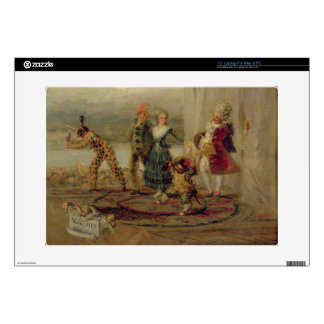 """Strolling Players, 1793 (oil on tin plate) Decals For 15"""" Laptops"""