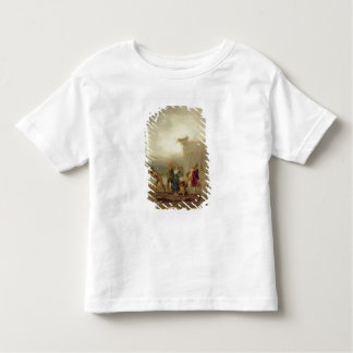 Strolling Players, 1793 (oil on tin plate) Toddler T-shirt