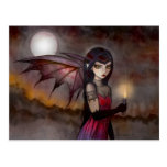 Strolling Victoria Vampire Fairy Postcard