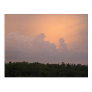Strom Clouds 2 Postcard