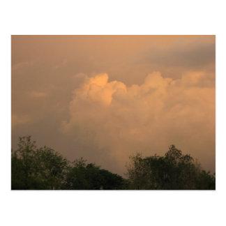 Strom Clouds Postcard