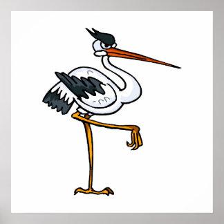 Strom Stork Posters