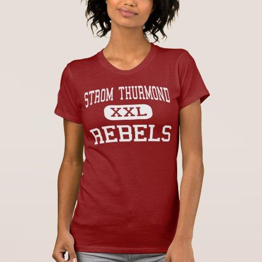 Strom Thurmond - rebeldes - alto - Johnston Camisetas