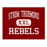 Strom Thurmond - rebeldes - alto - Johnston Tarjetas Postales