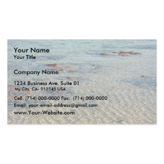 Stromatolites At Shark Bay Business Card Templates