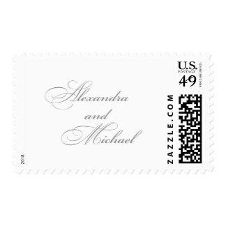 Stromer wedding stamp