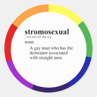 STROMOSEXUAL ETIQUETAS