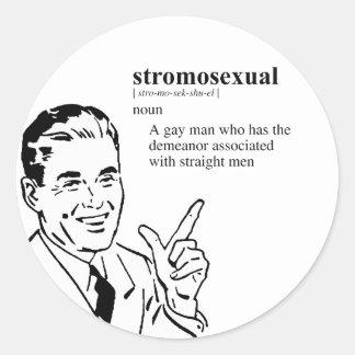 STROMOSEXUAL PEGATINAS