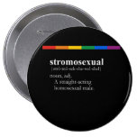 STROMOSEXUAL PINBACK BUTTONS