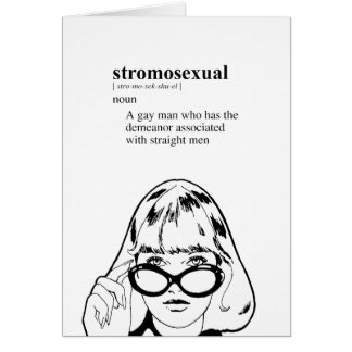 STROMOSEXUAL TARJETAS