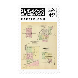 Stromsburg, Nebraska Sellos Postales