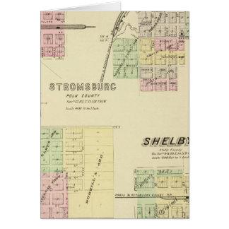 Stromsburg, Nebraska Tarjeta De Felicitación