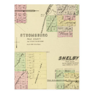 Stromsburg, Nebraska Tarjeta Postal