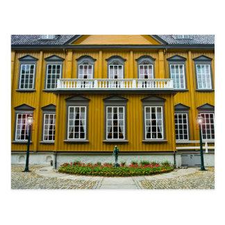 Strondheim la residencia real Stiftsgaarden Postal