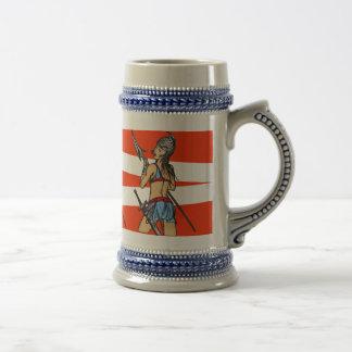 Strong Amazon Women Beer Stein