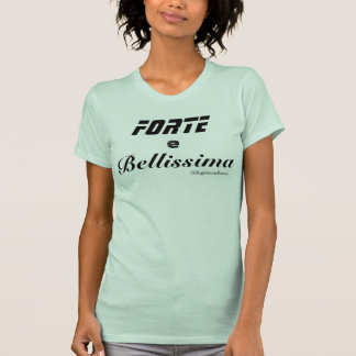Strong and Beautiful Racerback T-Shirt