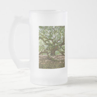 Strong And Bold Frosted Glass Beer Mug