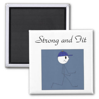 Strong and Fit 2 Inch Square Magnet