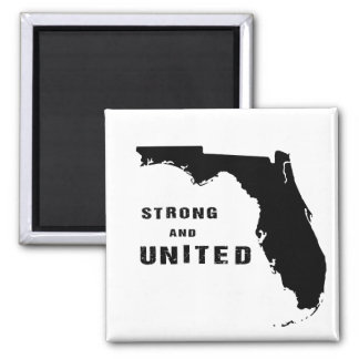 Strong and united Florida after hurricane Irma Magnet