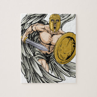 Strong angel jigsaw puzzle