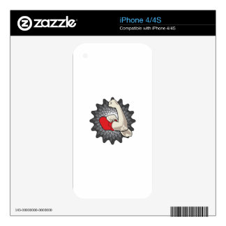 Strong Arm Decal For The iPhone 4