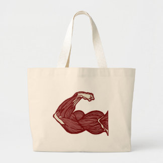 Strong Arm Large Tote Bag