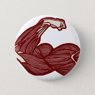 Strong Arm Pinback Button