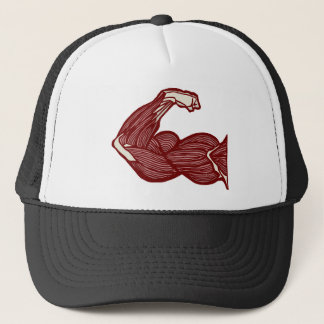 Strong Arm Trucker Hat