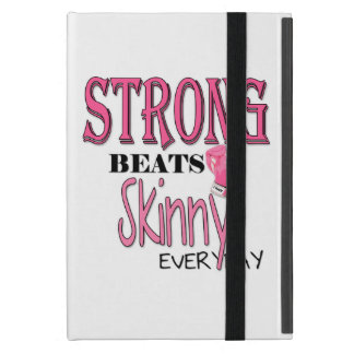 STRONG BEATS Skinny everyday W Pink Boxing Gloves Case For iPad Mini