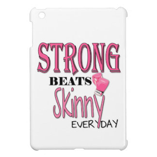 STRONG BEATS Skinny everyday With Pink Boxing Glo iPad Mini Cover