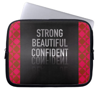 Strong Beautiful Confident Computer Sleeve