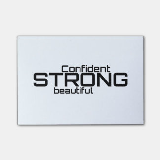 Strong Beautiful Confident Post-it® Notes
