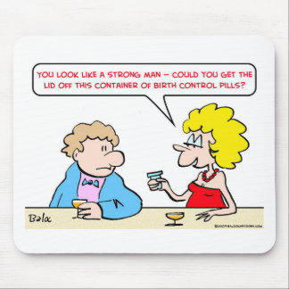 strong birth control pills mouse pad