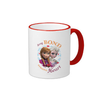 Strong Bond, Strong Heart Ringer Coffee Mug
