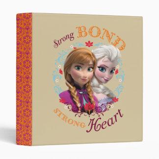 Strong Bond, Strong Heart Vinyl Binder