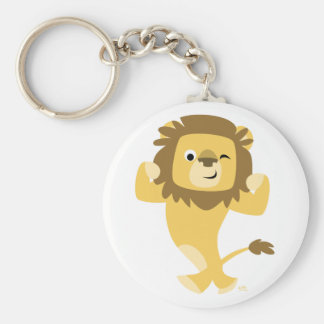 Strong Cartoon Lion keychain
