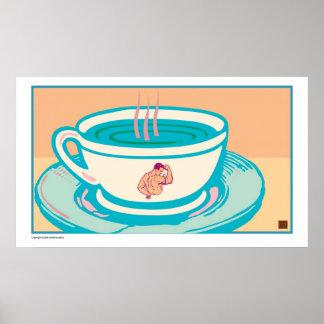 Strong Coffee-Print