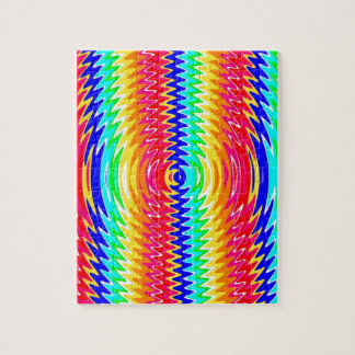 strong colors, waves, vibe jigsaw puzzle